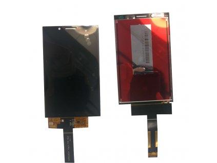 LCD Displej + Dotykové sklo BlackBerry KEY 2 LE čierna farba