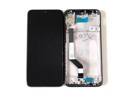 LCD Displej + Dotykové sklo Xiaomi Redmi Note 7 Čierna farba s rámom