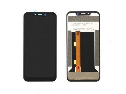 LCD Displej + Dotykové sklo Ulefone Armor 6 / 6E čierna farba