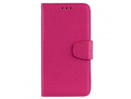 Puzdro Samsung Galaxy J4 Plus (2018) knižkové ružové