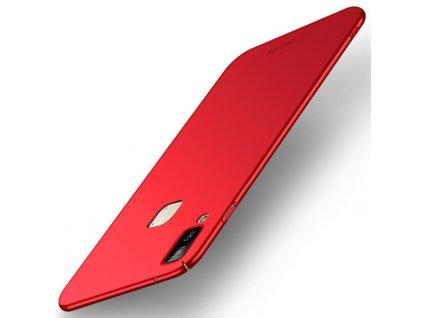 Puzdro Mofi Samsung Galaxy A8 Star/ A9 Star červené
