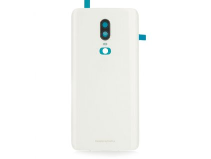 Kryt OnePlus 6 zadný biely so sklíčkom kamery