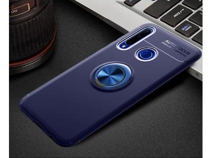 Ochranné puzdro Auto Focus Huawei Honor 20 Lite modré so stojanom