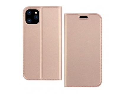 0.74095400 1569204559 dzgogo iskin series slight frosted pu+ tpu case for iphone 11 rose gold
