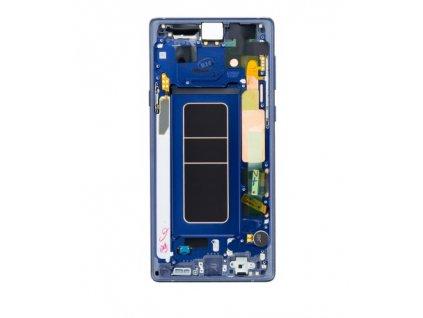 LCD displej a dotyková plocha Samsung Galaxy Note 9 N960 modrá farba