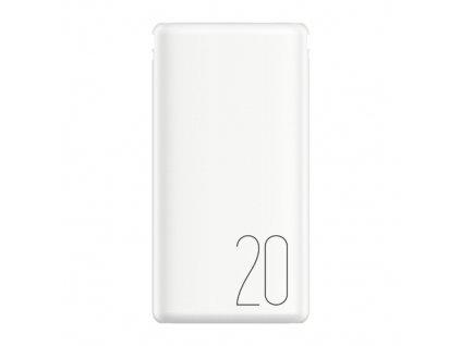 Power Bank RECCI 20000mah biela farba