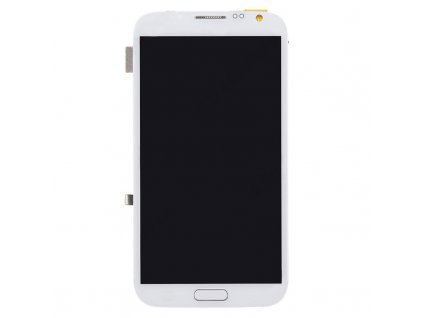 LCD displej s dotykovou plochou a rámom Samsung Galaxy Note 2 biela farba