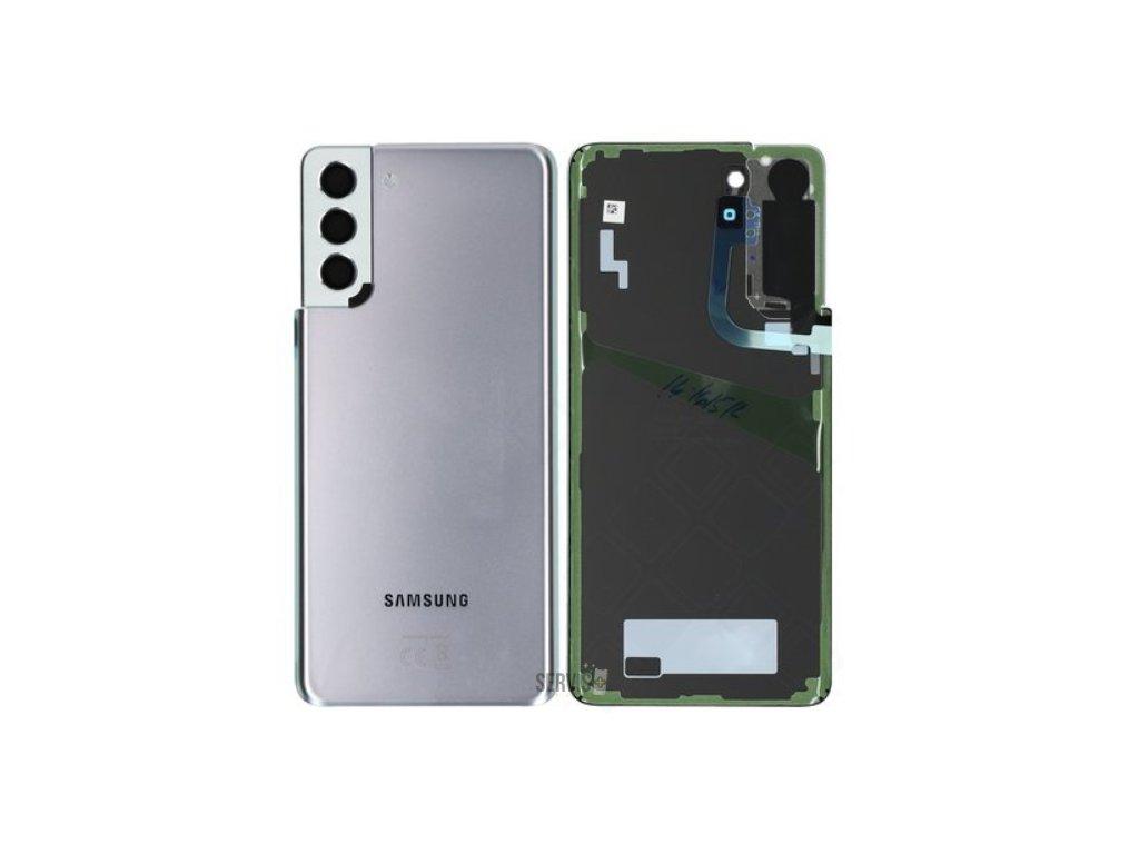 Samsung Galaxy S21 Plus 5G (G996) - Zadný kryt strieborný originál
