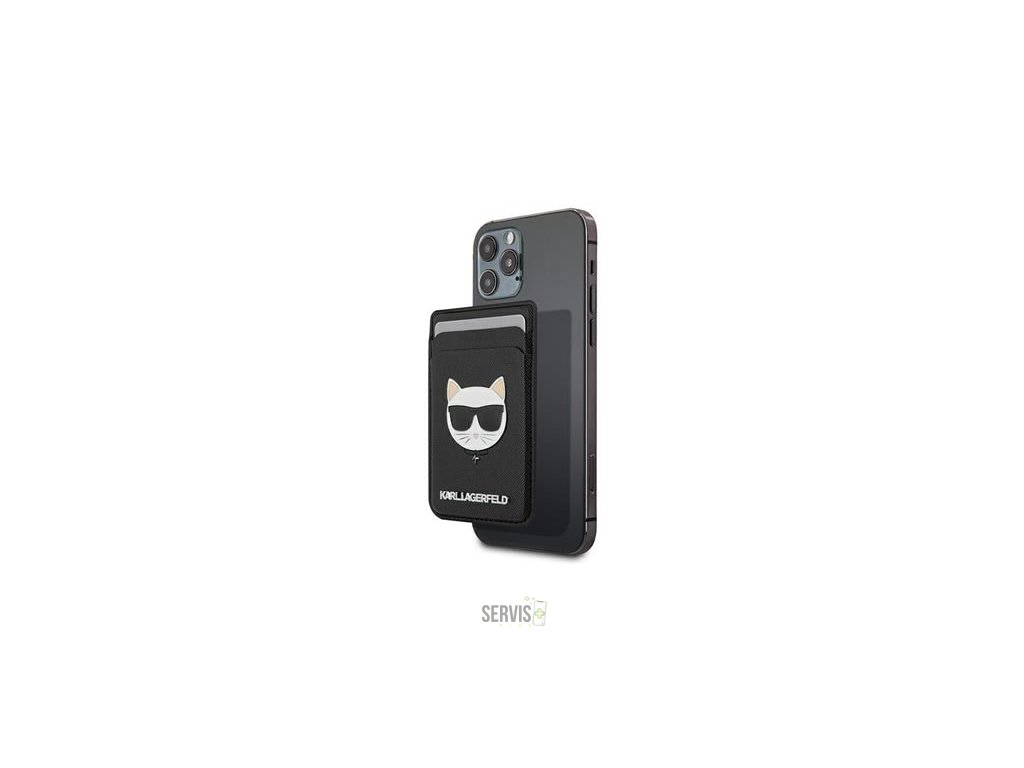 Karl Lagerfeld - Saffiano Magnetic Wallet KLWMSCHSFBK