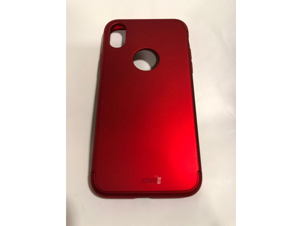 Obal 360 RED1 - iPhone X