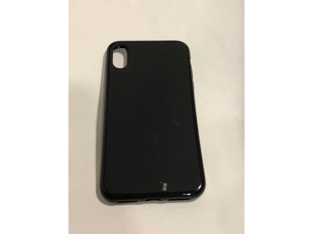 Obal gumený čierny - iPhone X/XS