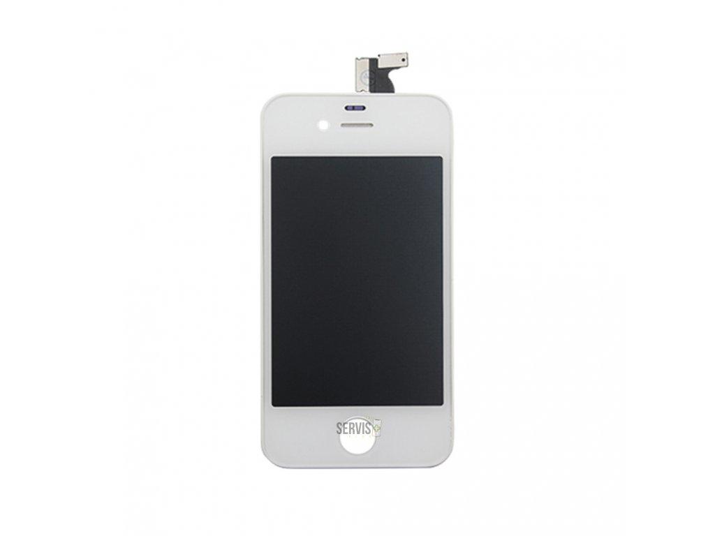 iPhone 4 - LCD + Dotyková plocha biela ORIGINÁL