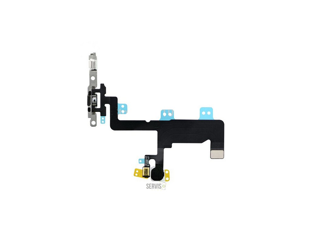 Power Button Flex Cable with Metal Bracket for iPhone 6