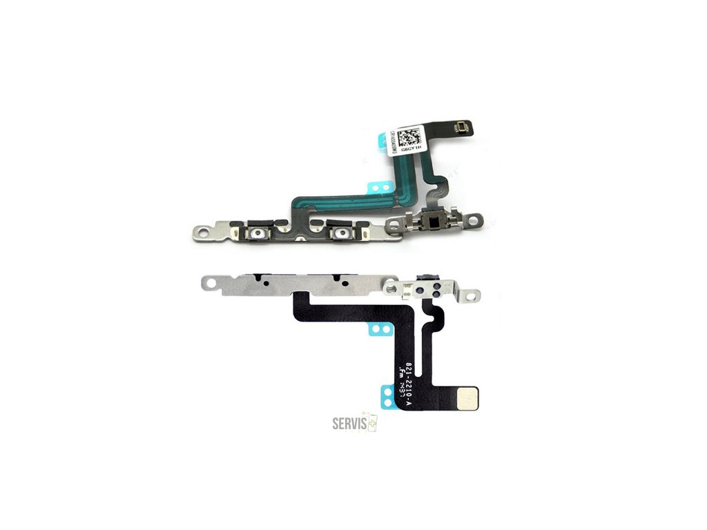 Volume Flex Cable with Metal Braket for iPhone 6