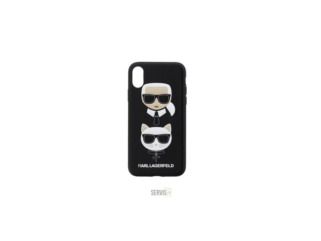 arl Lagerfeld Karl and Choupette Hard Case