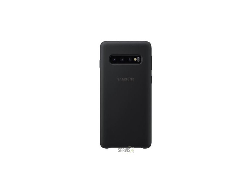 Samsung Silicone Cover G973 Galaxy S10 čierny