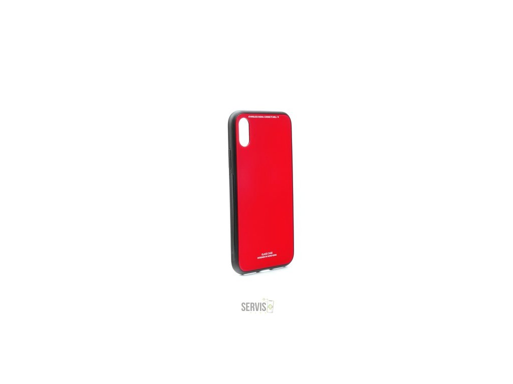 GLASS CASE RED