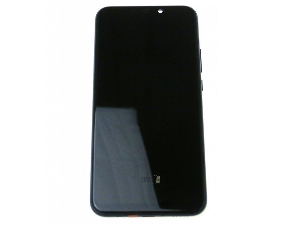 Huawei Mate 20 lite LCD displej dotykova plocha ram male diely cierna original