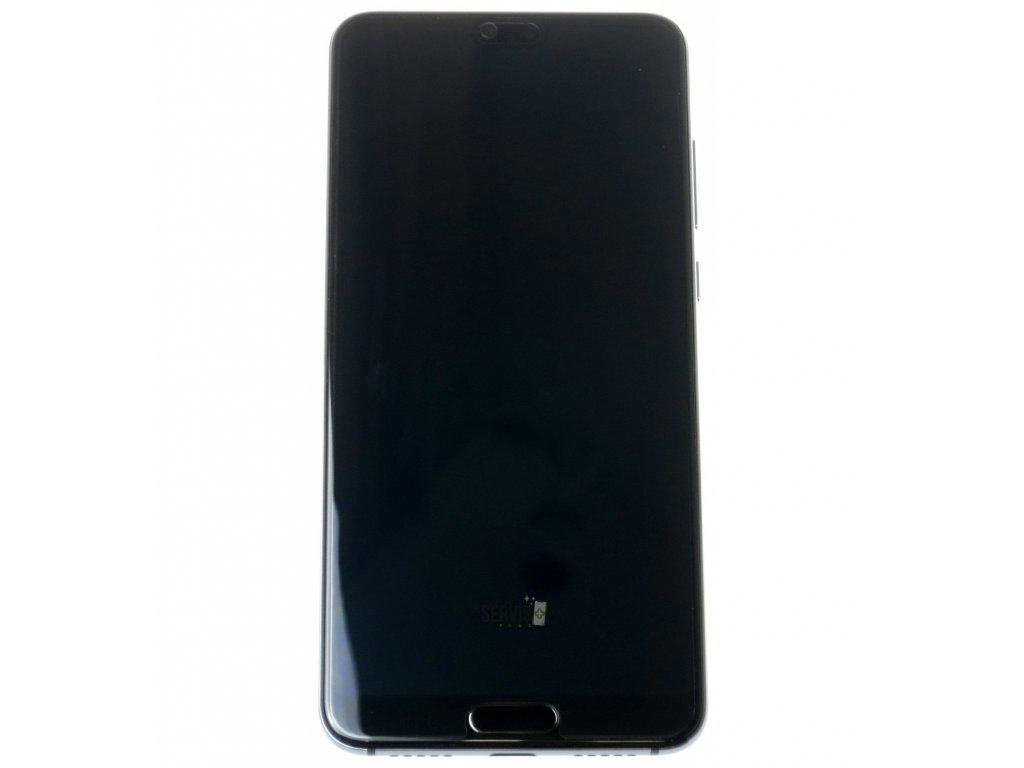 Huawei P20 Pro LCD displej dotykova plocha ram male diely modra original