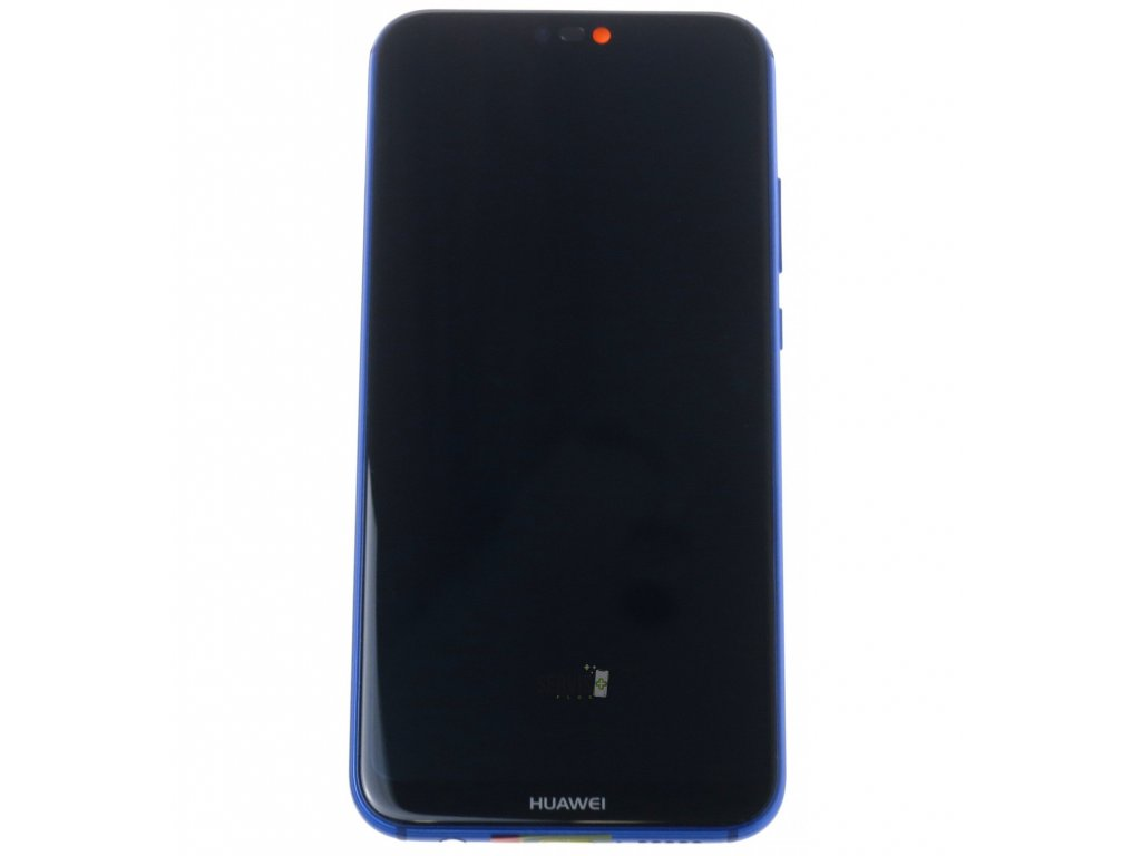 Huawei P20 Lite LCD displej dotykova plocha ram male diely modra original