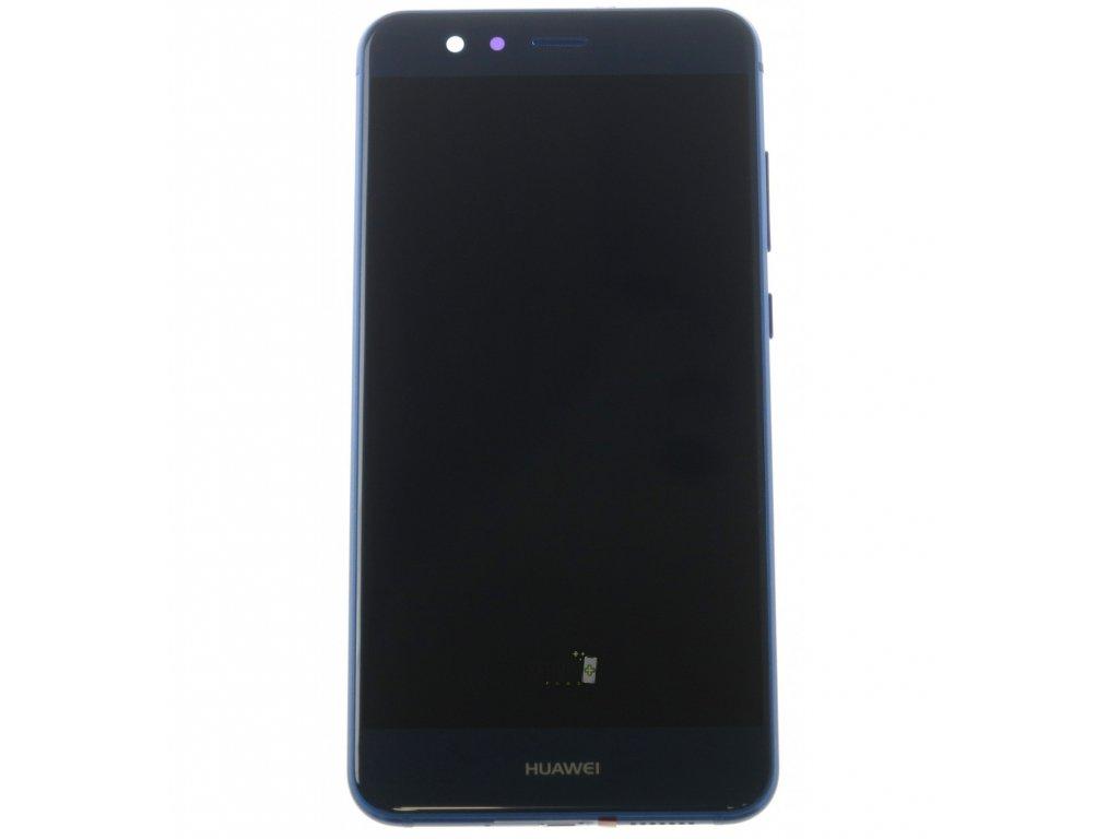 Huawei P10 Lite LCD displej dotykova plocha ram male diely modra original