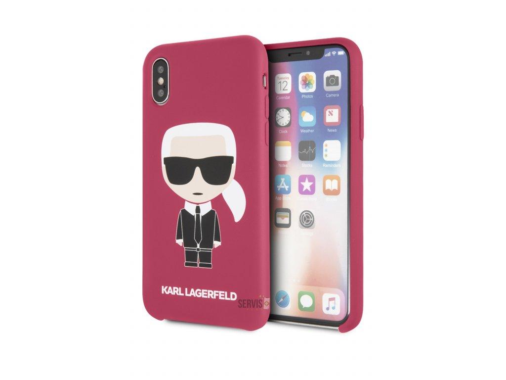 KARL LAGERFELD - iPhone X/XS KLHCPXSLFKFU