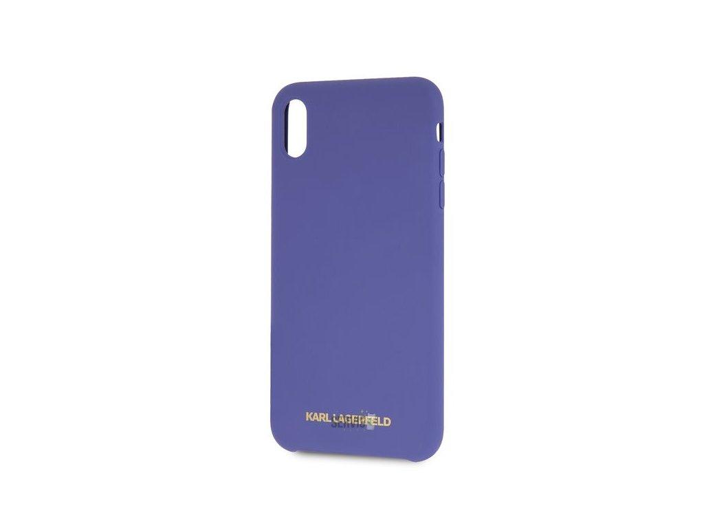 klhcpxslvog karl lagerfeld gold logo silicone case violet pro iphone x