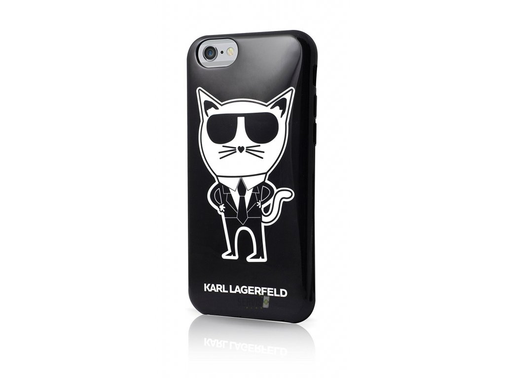 klhcp6htkch karl lagerfeld tpu pouzdro k team black pro iphone 6 6s
