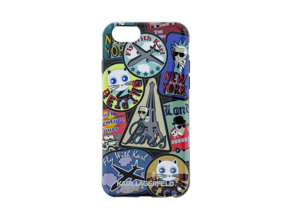 klhcp6trcp karl lagerfeld tpu pouzdro around the world paris pro iphone 6 6s original
