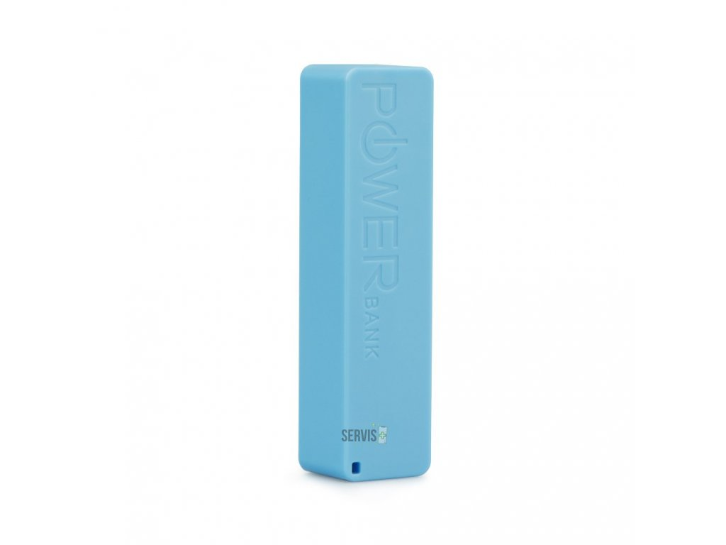 Power Bank PERFUME - 2600 mAh Blun Modrá