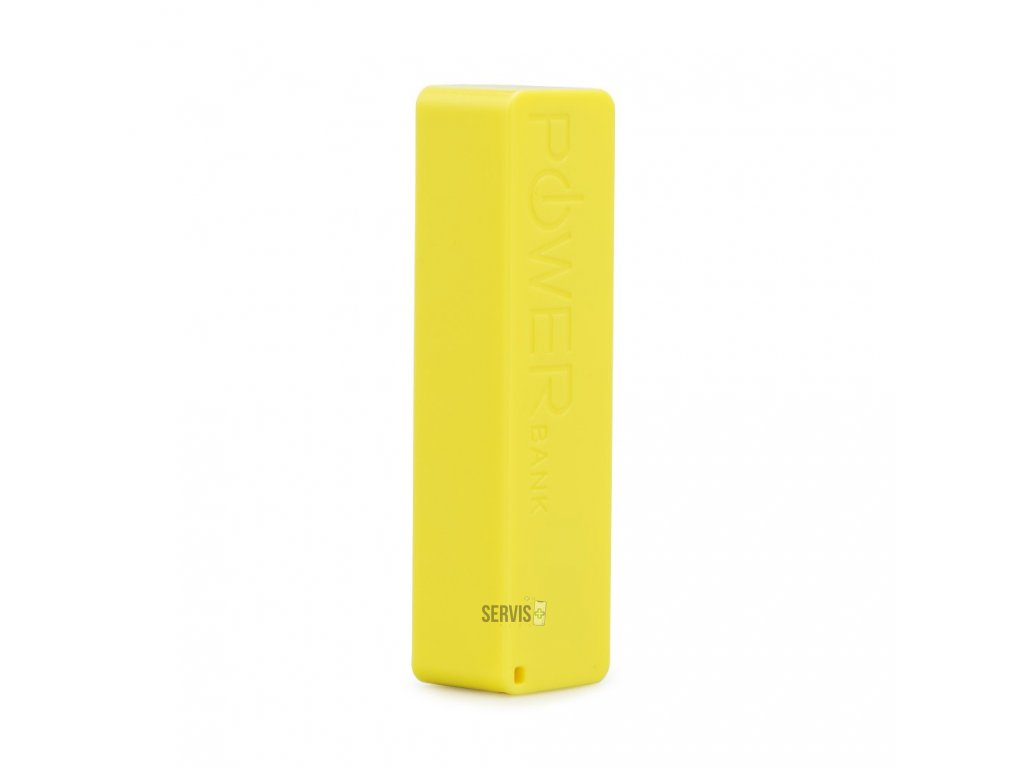 Power Bank PERFUME - 2600 mAh Blun Žltá