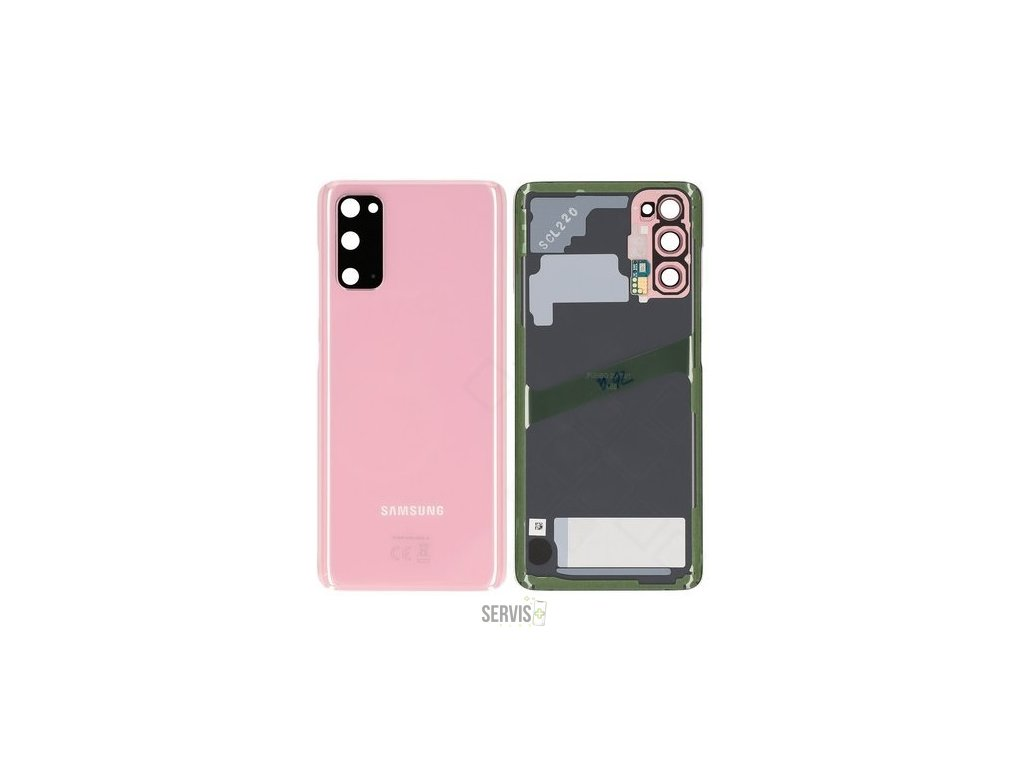 Battery Cover G980F Samsung Galaxy S20 cloud pink
