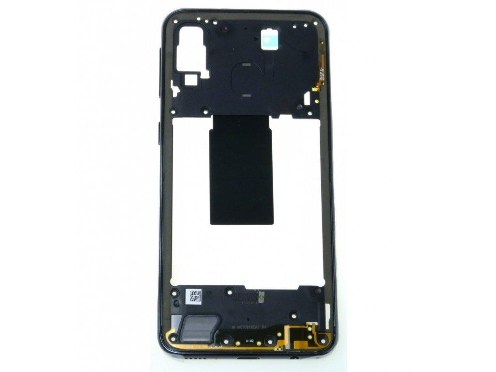 Samsung Galaxy A40 SM A405FN ram stredovy cierna original