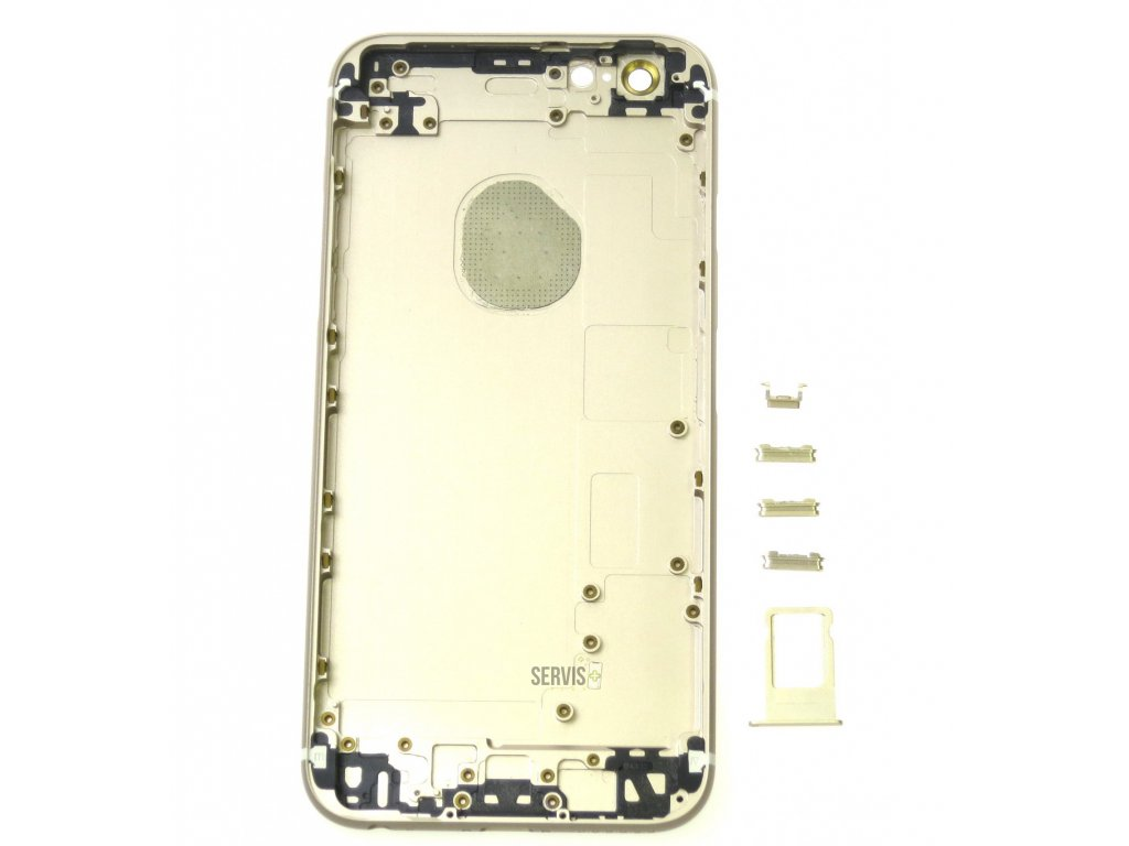 iPhone 6S - Zadný kryt ZLATÝ (OEM) - SERVIS PLUS 9b6190c4cbb