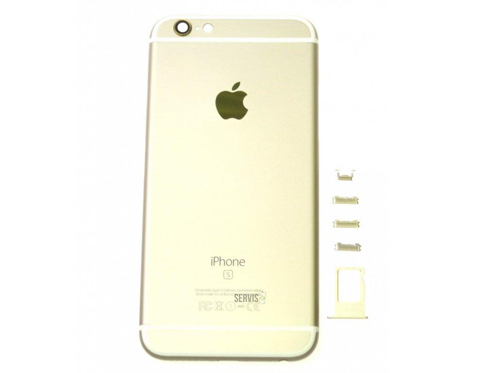 iPhone 6S - Zadný kryt ZLATÝ (OEM) - SERVIS PLUS b77a9b50afc