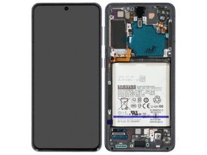 Samsung Galaxy S21 5G (G991) - Displej šedý originál