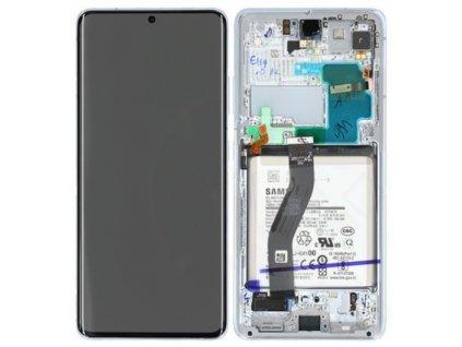 Samsung Galaxy S21 Ultra 5G (G998) - Displej strieborný originál