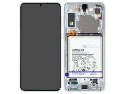 Samsung Galaxy S21 Plus 5G (G996) - Displej strieborný originál