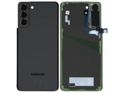 Samsung Galaxy S21 Plus 5G (G996) - Zadný kryt čierny originál