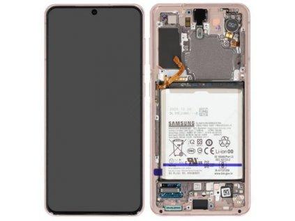 Samsung Galaxy S21 5G (G991) - Displej fialový originál