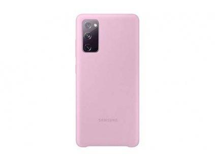 Samsung S20 FE - Silikónový obal fialový EF-PG780TVEGEU