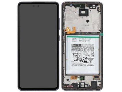 Samsung Galaxy A52 / 5G (A525, A526) - Displej + rám čierny originál