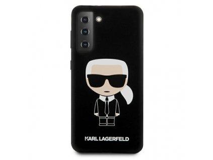 Karl Lagerfeld KLHCS21SSLFKBK S21 G991 hardcase czarnyblack Silicone Iconic 2