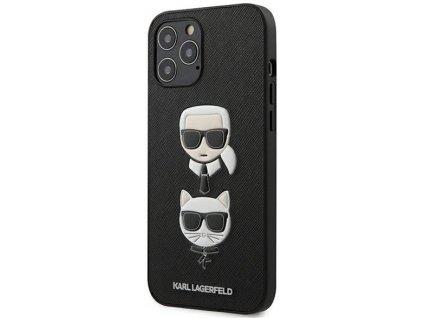 KARL LAGERFELD - iPhone 12 Pro Max KLHCP12LSAKICKCBK