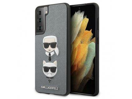 KARL LAGERGELD - Samsung S21 Plus KLHCS21MSAKICKCSL