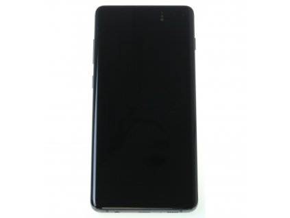 Samsung Galaxy S10 Plus G975F LCD displej dotykova plocha ram cierna original