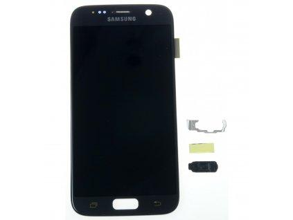 Samsung Galaxy S7 G930F LCD displej dotykova plocha cierna nahrada