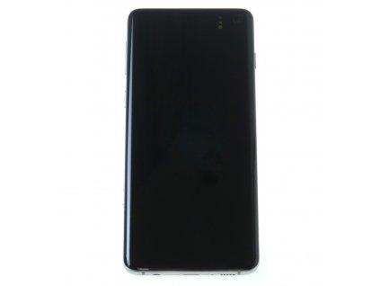 Samsung Galaxy S10 G973F LCD displej dotykova plocha ram biela original