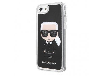 vyrp11 1187eng pl Karl Lagerfeld KLHCI8ICGBK iPhone 7 8 czarny black Iconic Glitter 51599 2