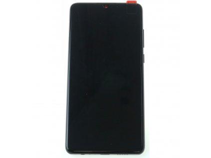 Huawei P30 ELE L09 LCD displej dotykova plocha ram cierna original